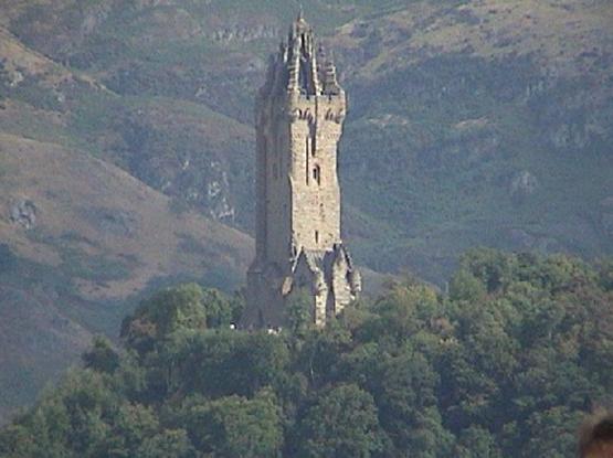 Wielka Brytania - zdjęcia z podróży Stirling - Wallace Monument