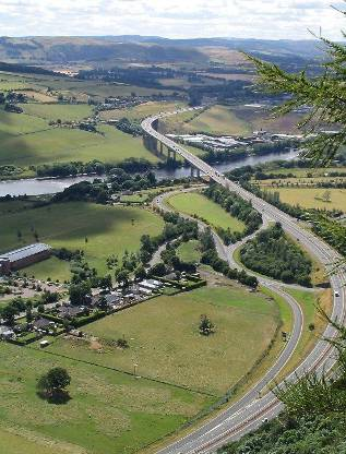 Kinnoull Hill Vista, Perth