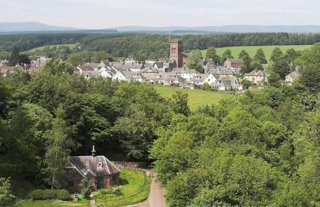 Doune Village, Perthshire
