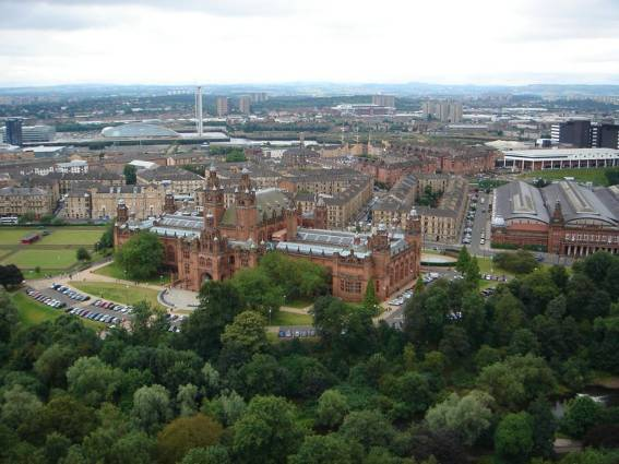 Image:Kelvingrove Art Gallery and Museum from the University of Glasgow Tower.jpg