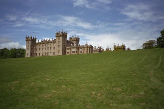 Schottland, Floors Castle, flußseitig
