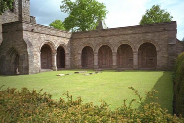 Schottland, Kelso Abbey, Klosterhof