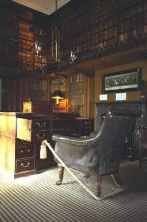 Schottland, Abbotsford House, Bibliothek