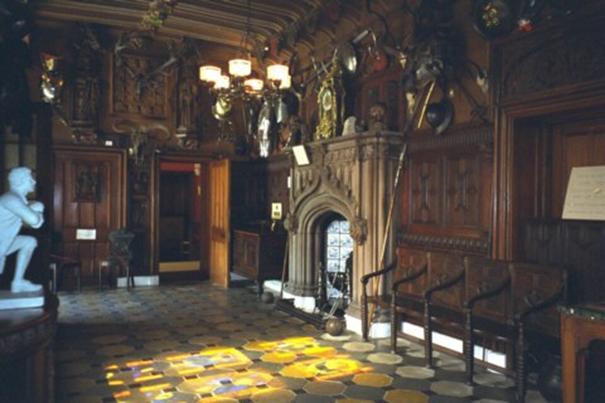 Schottland, Abbotsford House, Eingangshalle