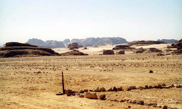 Gdzieś na pustyni