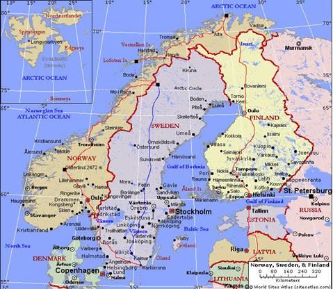 Polwysep Skandynawski Informacje Ogolne