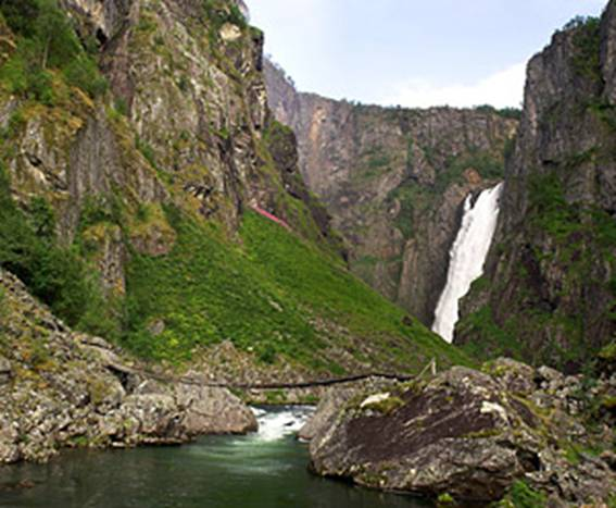 Wodospad Vøringsfossen, Norwegia